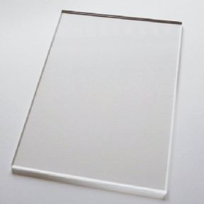 148mm x 210mm A5 Lightweight Acrylic Stamping Block